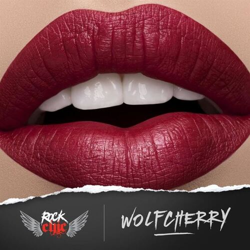 ROCK CHIC Liquid Lipstick - 'WOLFCHERRY'