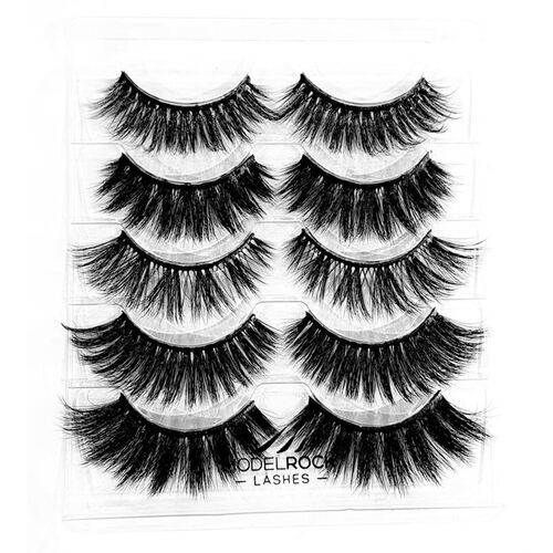 *MULTI PACK* NO MINK // Faux Mink Lashes - *CONFESSIONS OF A LASH QUEEN* - 5 pair Lash Pack
