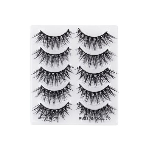 *MULTI PACK* Russian Doll 2.0 - Double Layered - 5 pair lash pack