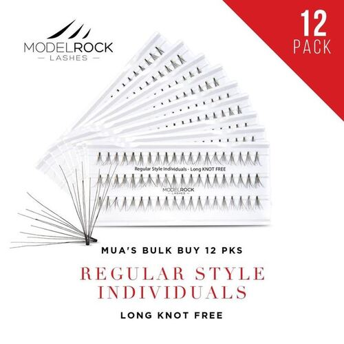 WEBSITE ONLY EXCLUSIVE - Regular Style Individuals  LONG Knot Free 'BULK BUY 12 PKS'