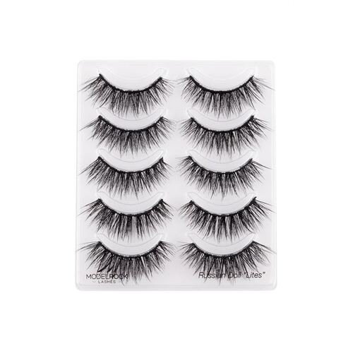 *MULTI PACK* Russian Doll 'LITES' Double Layered Lashes - 5 pair lash pack