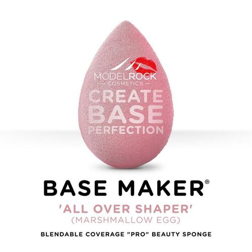 Base Maker® - Single Sponge -'ALL OVER SHAPER' (Marshmallow Pink Egg)