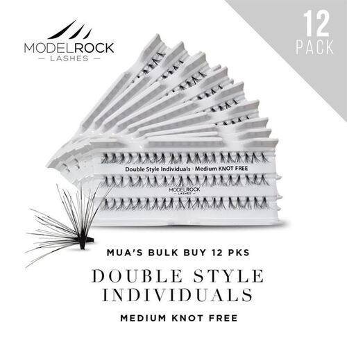 WEBSITE ONLY EXCLUSIVE - Double Style Individuals  MEDIUM Knot Free 'BULK BUY 12 PKS'