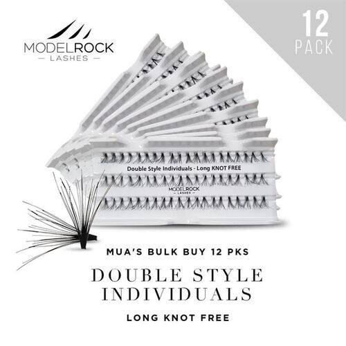 WEBSITE ONLY EXCLUSIVE - Double Style Individuals  LONG Knot Free 'BULK BUY 12 PKS'