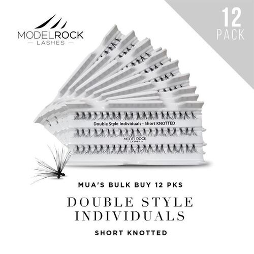 WEBSITE ONLY EXCLUSIVE - Double Style Individuals SHORT Knotted 'BULK BUY 12 PKS'