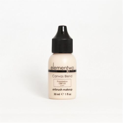 Elementwo CANVAS BLEND Foundation 30ml CBF-03 Linen